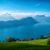 Mt. Rigi to Lake Lucerne views