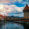Kapellbrucke, iconic Lucerne