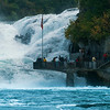 Rheinfall close-up view
