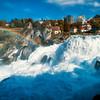 Rheinfall rainbow