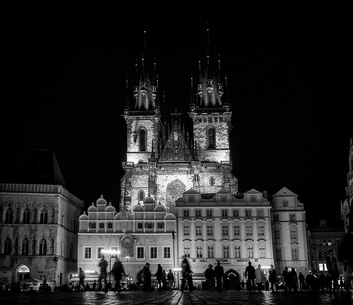 Old Town Square & Church of Our Lady before Tyn