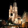 Grossmunster church from Munsterbrucke