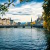 Limmat, downtown Zurich