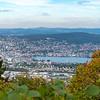 from Uetliberg, toward Zurich