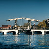 Magere Brug Bridge over the Amstel River