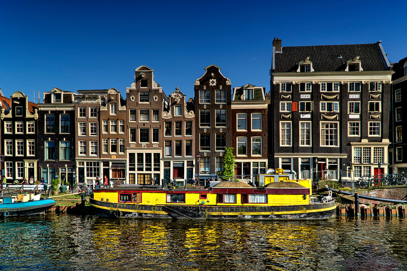 canal rowhouses