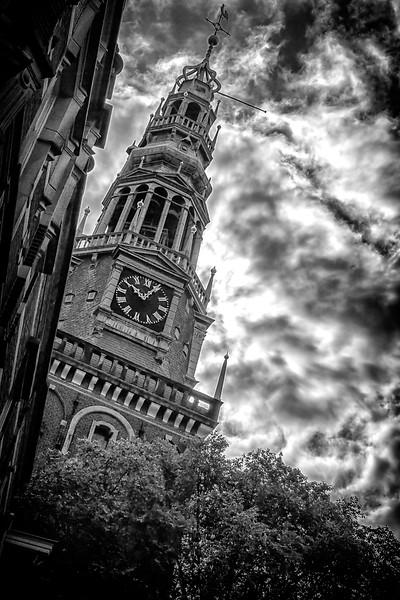 """Oude Kerk Walletjes (""""Old Church"""" in Walletjes red light district area)"""