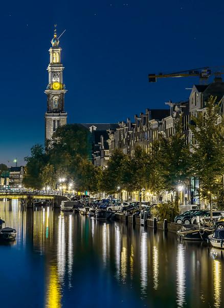 canals near Westerkerk