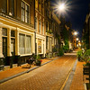 calmer side-streets of Amsterdam