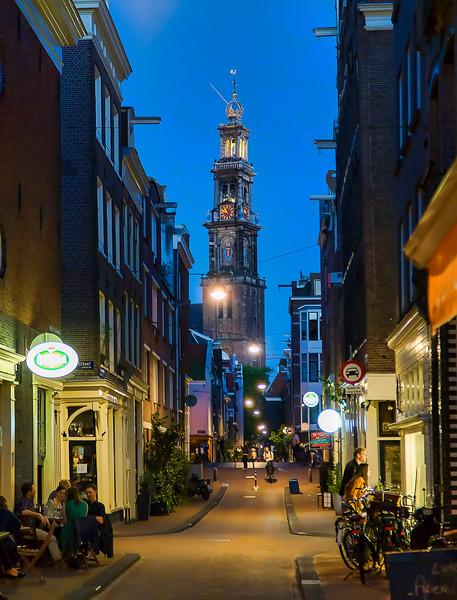 restaurants lead to Westerkerk