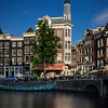 Amsterdam canals, long exposure