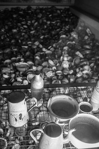 Drinking vessels confiscated from Jewish prisoners