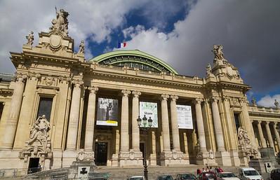 The Grand Palais Entrance