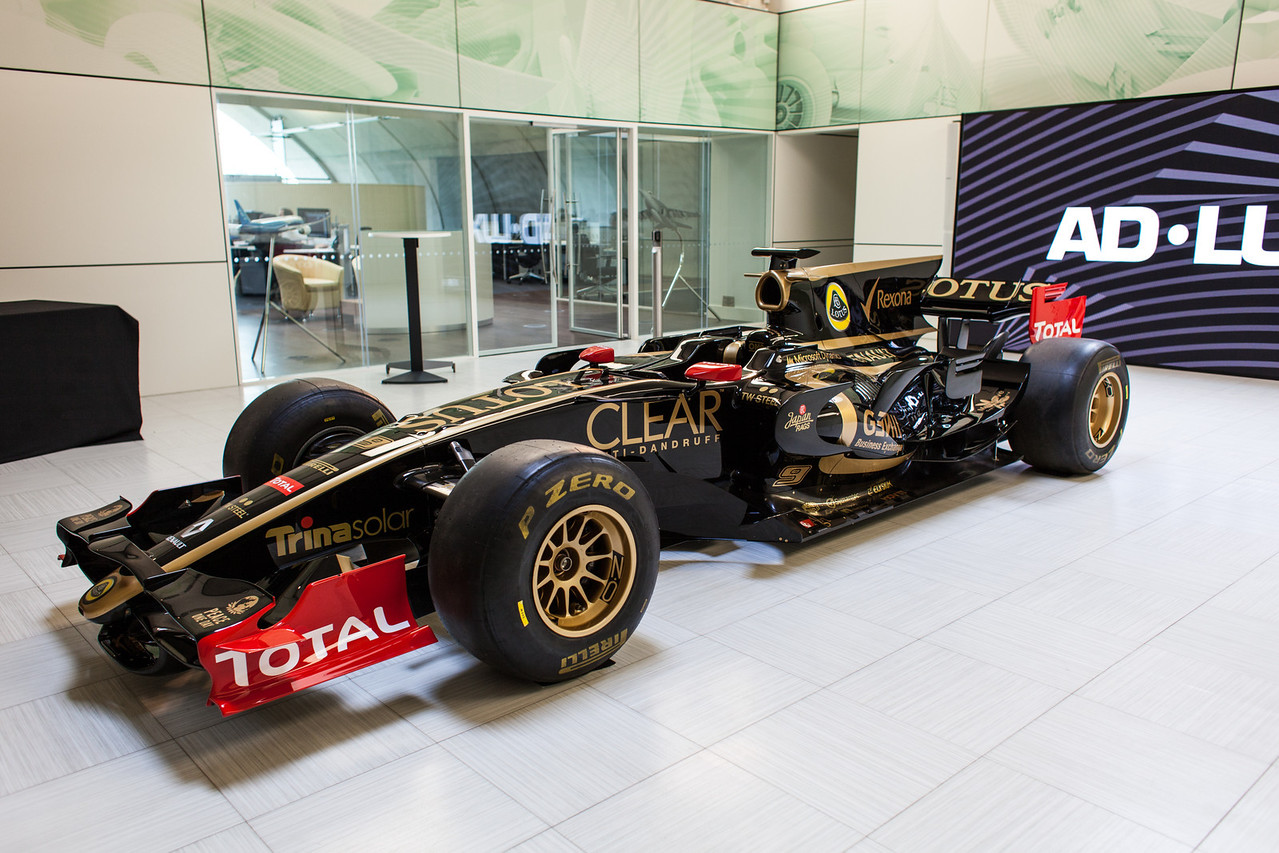 Show car and client space for clients to hold meetings adjacent to aerodynamic design team office
