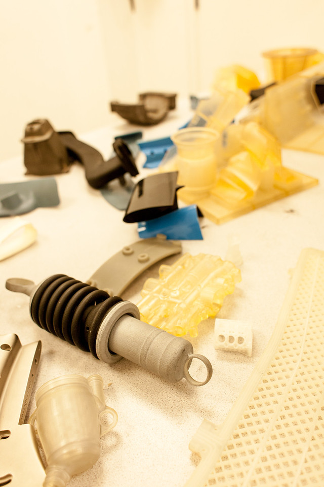 3D Printed parts and some components made from moulds made in printer