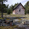 Chapel of St Olaf, at Lembote, dating from 1200s.  Used be sea-farers between current Sweden and Finland when route passed thru Aland island.  In 1600s bigger boats meant this area was bypassed