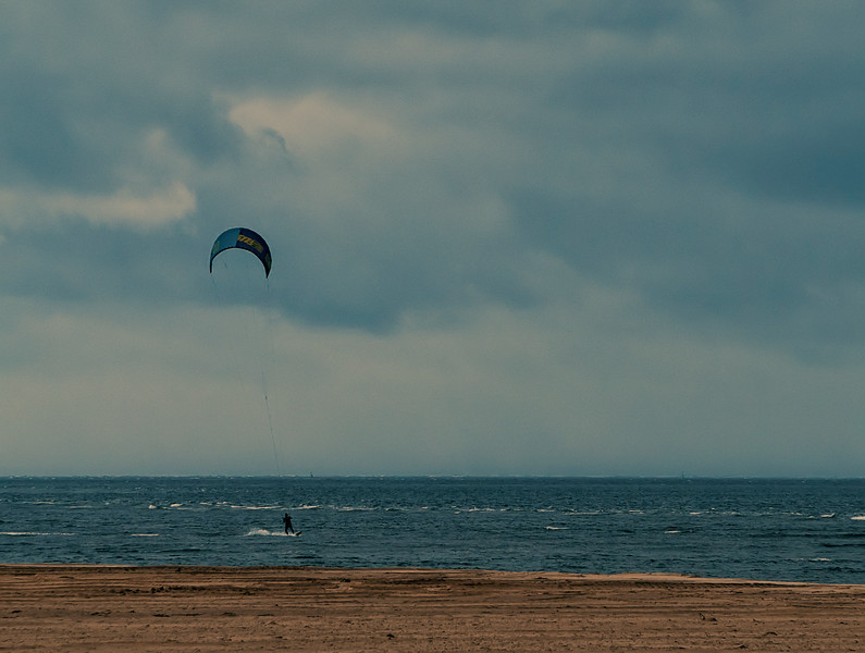 kite-surfing on Arcachon shores