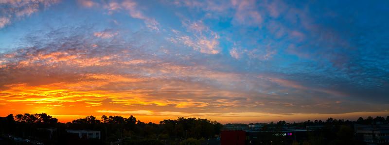 Bordeaux sunset
