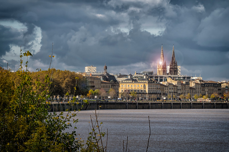 across the Garonne