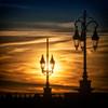 lights over skies, at Pont de Pierre