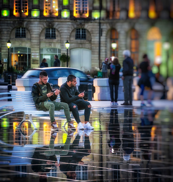 at Le Miroir d'Eau
