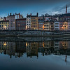 Quais de Saone reflection