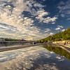 Chilling on the Rhone river bank