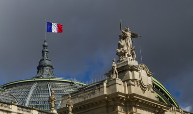 Rising Above the Grand Palais