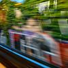 train toward The Hague