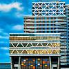 Mondrian style at New Babylon hotel