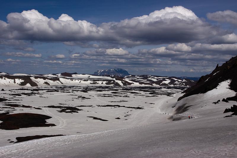 Askja and Herthubreith, Iceland