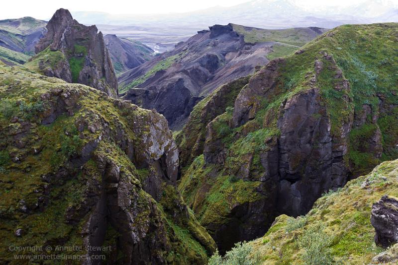 Tindfjallagil, Thorsmork, Iceland