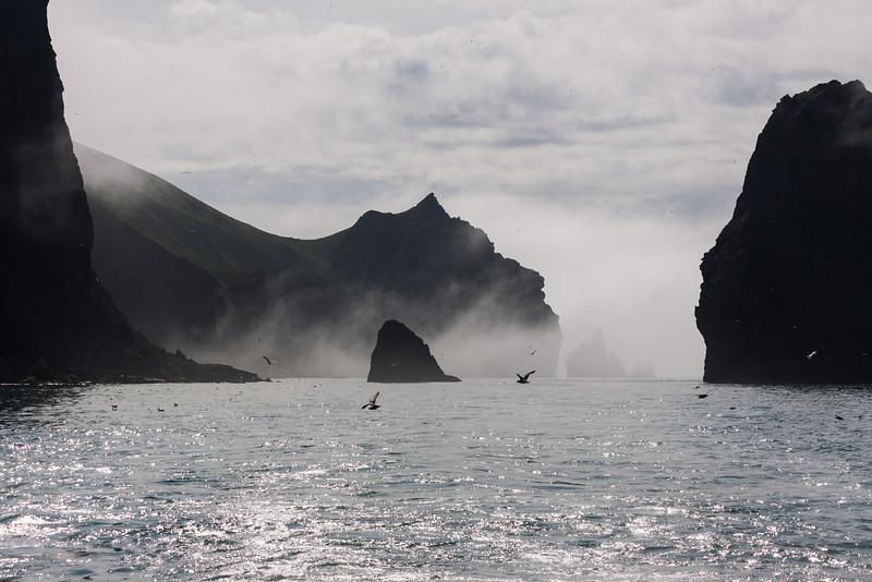 Mithklettur, Heimaey, Vetmannaeyjar, Iceland