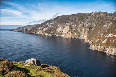 Slieve League, County Donegal, some of the highest cliffs in Ireland.