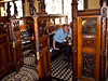 Inside The Crown Pub<br /> Belfast, Northern Ireland<br /> Saturday, 5 June 2010<br /> Photo © Sean Murphy  2010