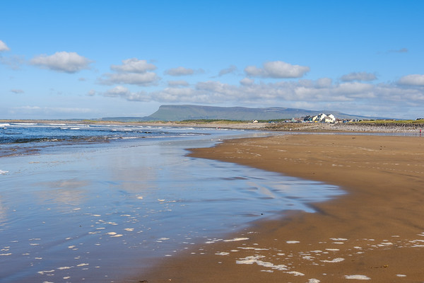 The beach at Strandhill, near Sligo.