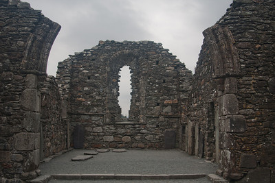 Ruined chapel, Glendalough Abbey