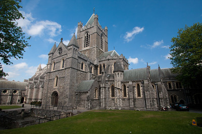 Entrance to Christchurch Cathedral, Dublin
