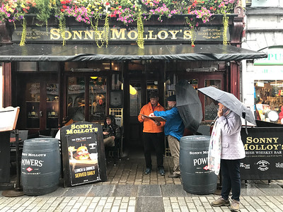 Rainy day in Galway.