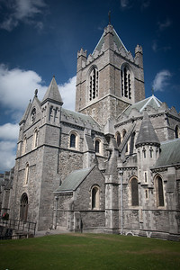 Bell tower, Christchurch Cathedral, Dublin.