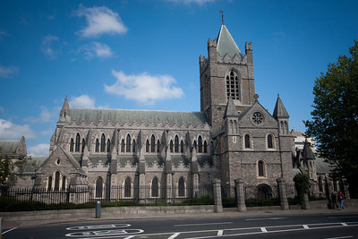 Christchurch Cathedral, Dublin - final resting place of Strongbow.