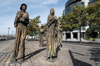 The Famine Memorial, Dublin.