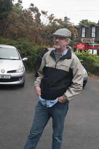 My favorite photographer in his jaunty motoring cap.