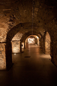 The crypt of Christchurch Cathedral, Dublin