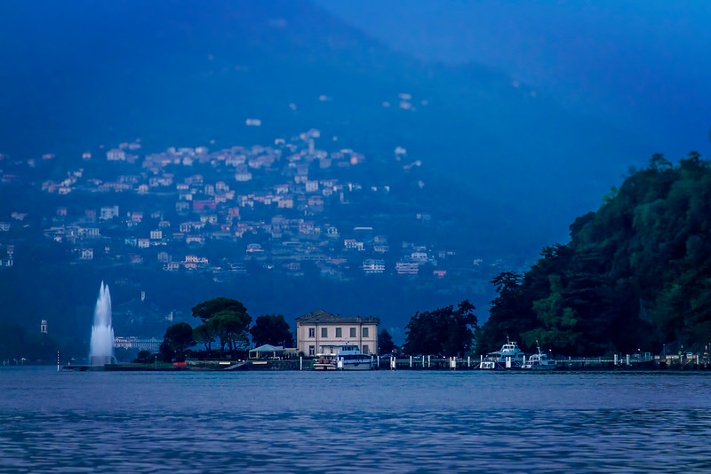 Lago di Como and Villa Geno