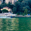 the boat-bus system around Lake Como is impressive