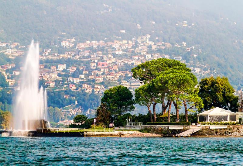 Lago di Como and Villa Geno