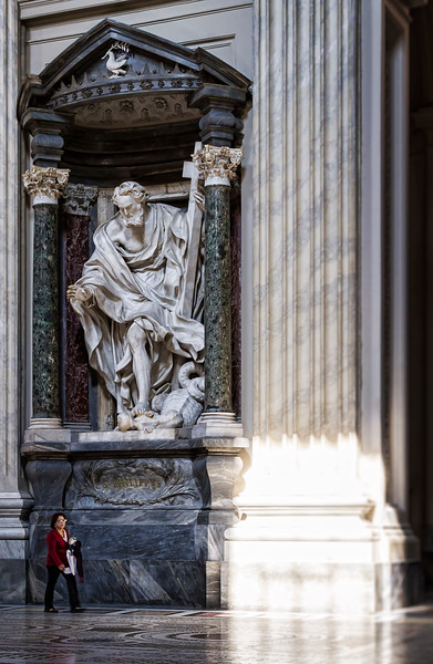 St. Philip, by Mazzuoli (Archbasilica San Giovanni in Laterano)