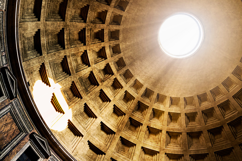 Oculus of the Pantheon dome