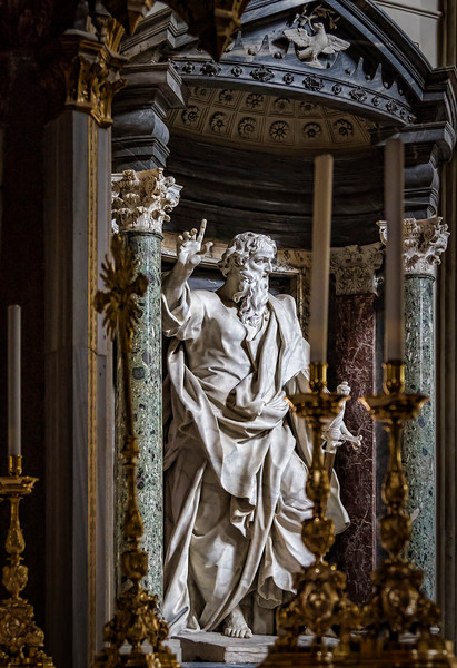St. Paul, by Monnot (Archbasilica San Giovanni in Laterano)